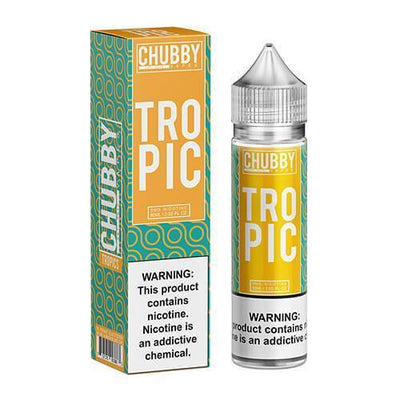CHUBBY BUBBLE | TROPIC 60ML eLiquid - Vaping Industries