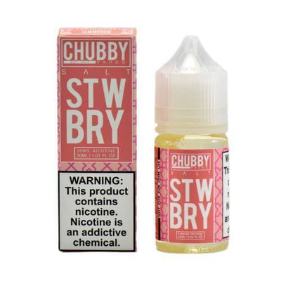 CHUBBY BUBBLE SALTS | STWBRY 30ML eLiquid - Vaping Industries