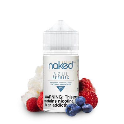 NAKED 100 CREAM | Azul Berries 60ML eLiquid - Vaping Industries