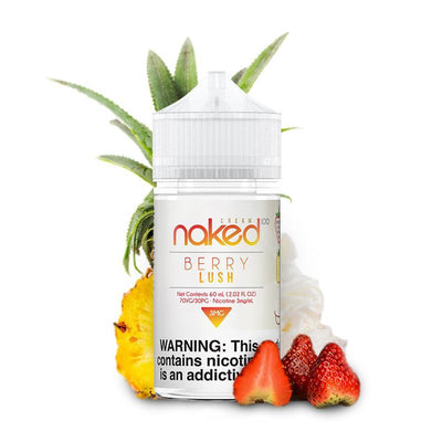 NAKED 100 CREAM | Berry Lush / Pineapple Berry 60ML eLiquid - Vaping Industries