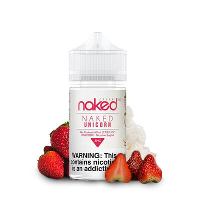 NAKED 100 CREAM | Unicorn / Strawberry 60ML eLiquid - Vaping Industries