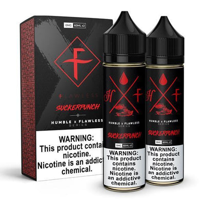 HUMBLE X FLAWLESS | Suckerpunch 120ML eLiquid - Vaping Industries