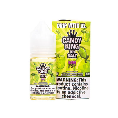 CANDY KING ON SALT | Hard Apple 30ML eLiquid - Vaping Industries