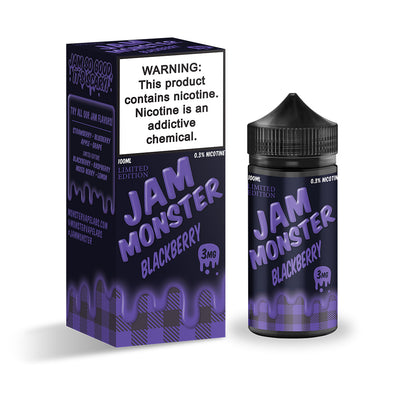 BlackBerry | JAM MONSTER 100ML - Vaping Industries
