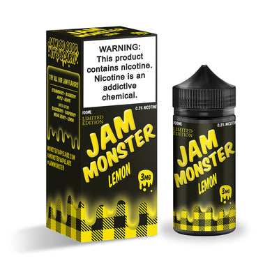 Lemon | JAM MONSTER 100ML - Vaping Industries