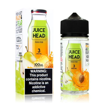 JUICE HEAD | Peach Pear 100ML eLiquid - Vaping Industries