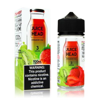 JUICE HEAD | Strawberry Kiwi 100ML eLiquid - Vaping Industries