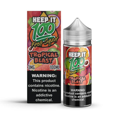 Keep It 100 | Tropical Blast 100ML eLiquid - Vaping Industries