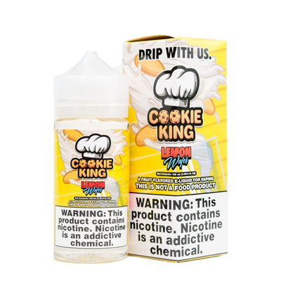 COOKIE KING | Lemon Wafer 100ML eLiquid - Vaping Industries
