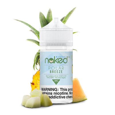 NAKED 100 MENTHOL | Polar Breeze / Melon 60ML eLiquid - Vaping Industries