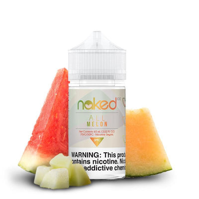 NAKED 100 ORIGINAL | All Melon 60ML eLiquid - Vaping Industries