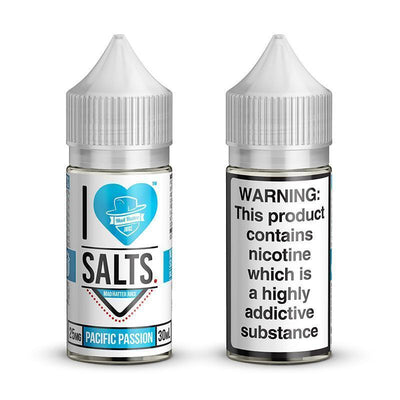 I Love Salts by Mad Hatter | Pacific Passion 30ML eLiquid - Vaping Industries