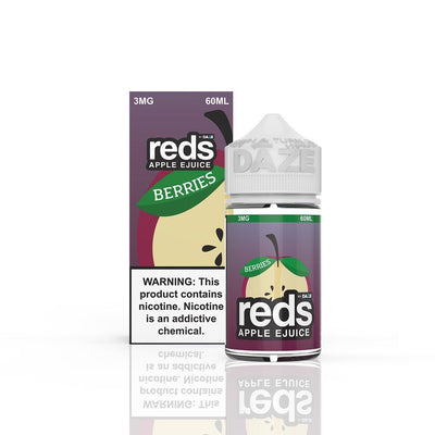 VAPE 7 DAZE | Reds Berries 60ML eLiquid - Vaping Industries