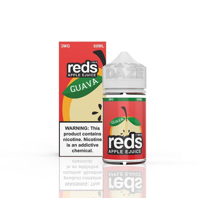 VAPE 7 DAZE | Reds Guava 60ML eLiquid - Vaping Industries