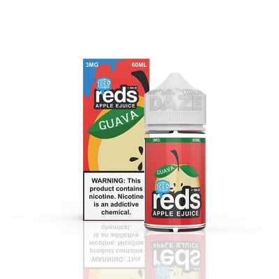 VAPE 7 DAZE | Reds Guava Iced 60ML eLiquid - Vaping Industries