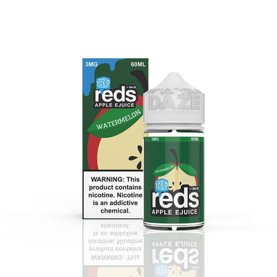 VAPE 7 DAZE | Reds Watermelon Iced 60ML eLiquid - Vaping Industries