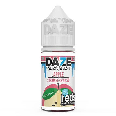 VAPE 7 DAZE SALT | Reds Strawberry Iced 30ML eLiquid - Vaping Industries