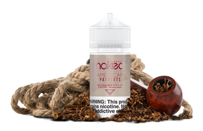 NAKED 100 TOBACCO | American Patriots 60ML eLiquid - Vaping Industries