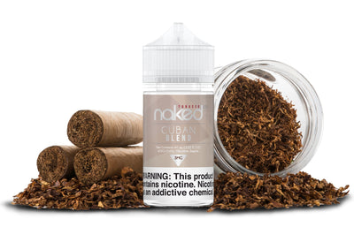 NAKED 100 TOBACCO | Cuban Blend 60ML eLiquid - Vaping Industries