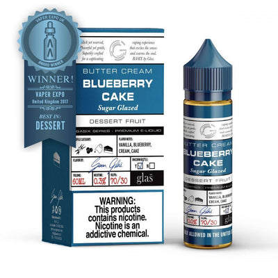 GLAS BASIX SERIES | Blueberry Cake 60ML eLiquid - Vaping Industries