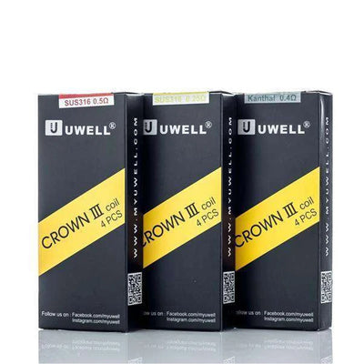 Crown 3 Replacement Coils | UWELL - Vaping Industries