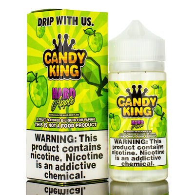CANDY KING | Hard Apple 100ML eLiquid - Vaping Industries