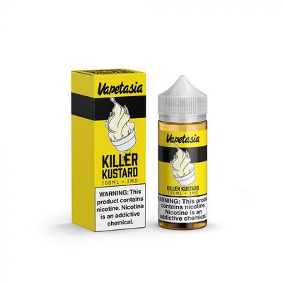 VAPETASIA | Killer Kustard 100ML eLiquid - Vaping Industries