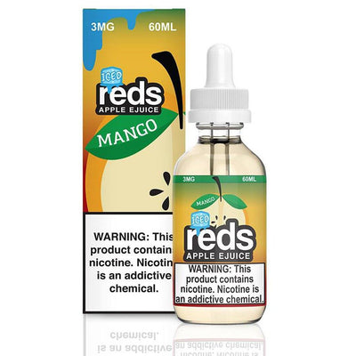 VAPE 7 DAZE | Reds Mango Iced 60ML eLiquid - Vaping Industries