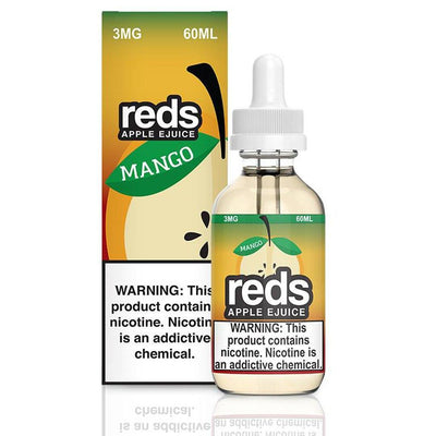VAPE 7 DAZE | Reds Mango 60ML eLiquid - Vaping Industries