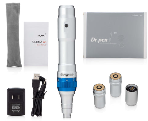 Dr. pen®Ultima A6 Pro Deluxe Kit & 24 pcs Cartridges