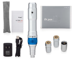 Dr. pen®Ultima A6 Pro Deluxe Kit & 22 pcs Cartridges