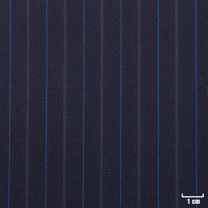 822222 - BLUE, GREY/BLUE DOTTED STRIPES