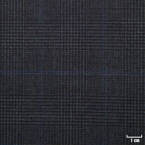 501105 - DARK GREY, BLUE CHECKS