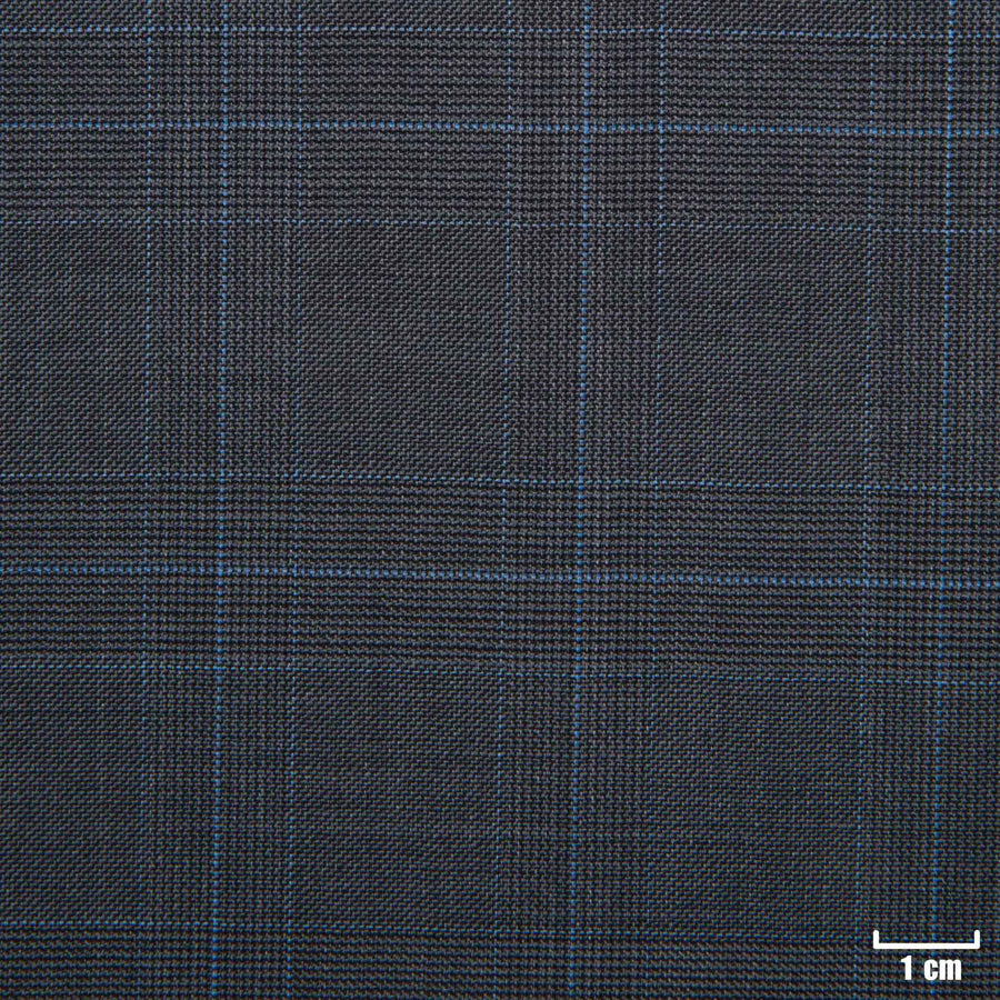501310 - GREY, BIG BLUE CHECKS