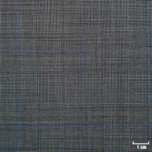 501316 - LIGHT GREY, BIG BLUE CHECKS