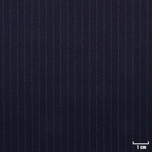 501250 - DARK BLUE, NARROW WHITE STRIPES