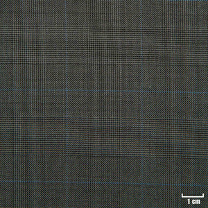 501322 - BROWN, BIG BLUE CHECKS