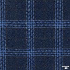 403940 - DARK BLUE, CHECKS