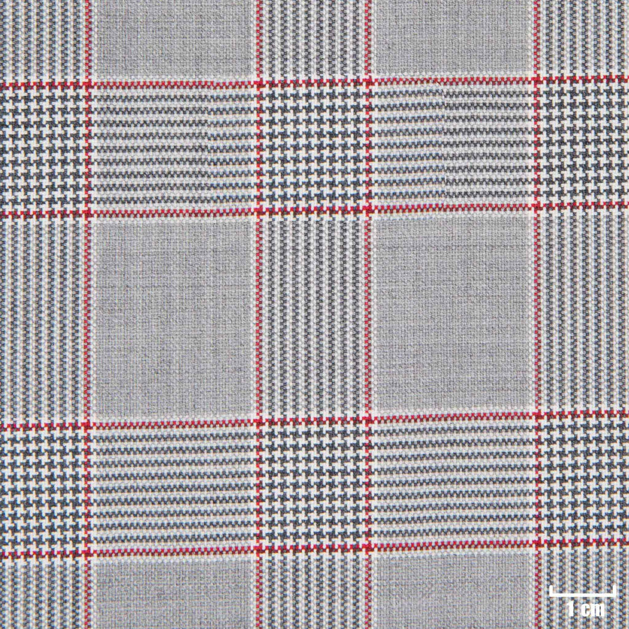 501301 - GREY, RED CHECKS
