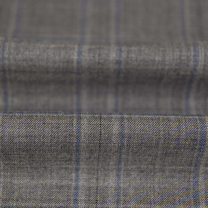 222601 - GREY, BLUE CHECKS