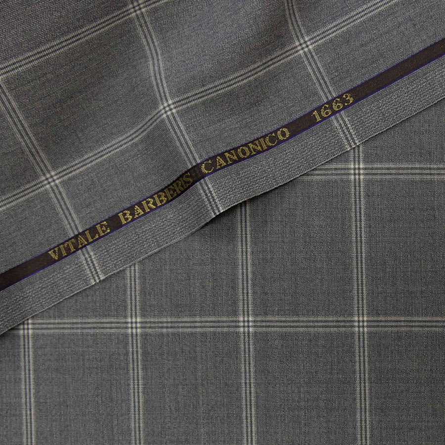 226812 - LIGHT GREY, BIG CHECKS