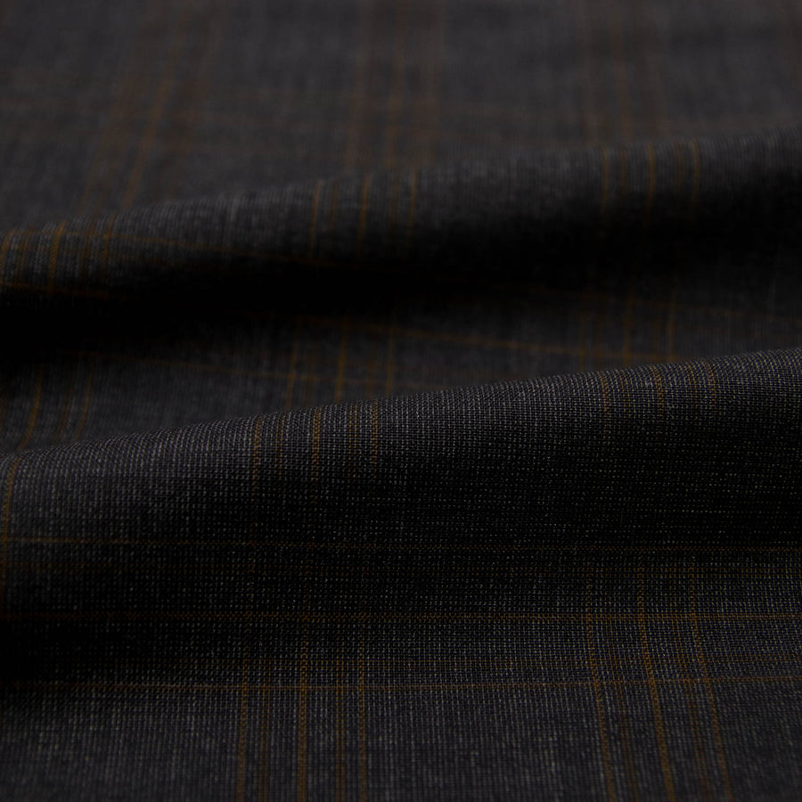 226824 - GREY, ORANGE CHECKS