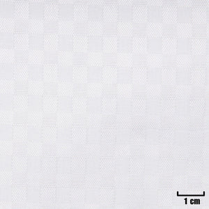 H11371 - WHITE, SMALL CHECKS
