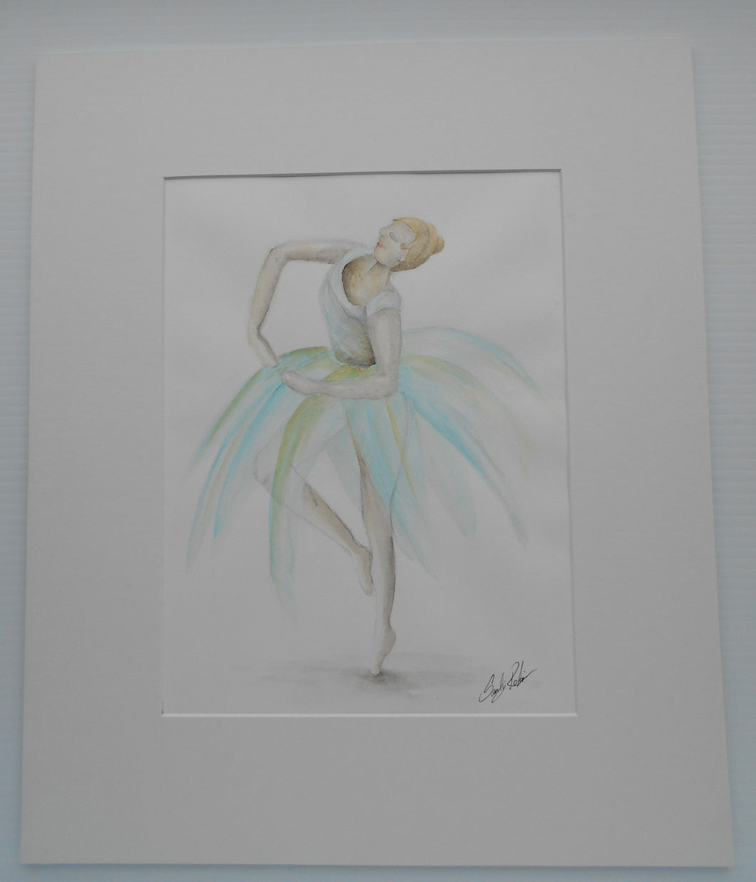 'Untitled', (Ballerina) by Sandy Robinson