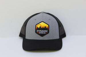 Dynamic Discs - Sunset Hex Snapback Mesh Hat