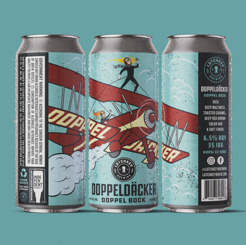 DoppelDacker | Doppelbock - Latchkey Brewing Company Craft Beer Online Store