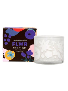 FLWR Candle - Fig & Voilet