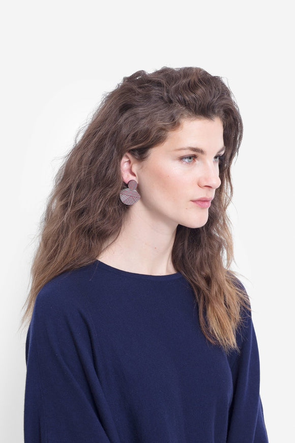 Elk Elva Earrings - Available in Three Colours