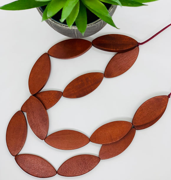 Elk Leaf Necklace - Available In Two Colours