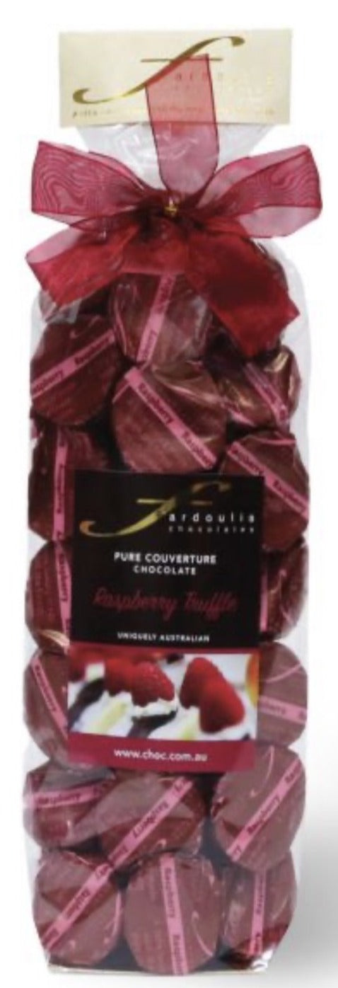 Fardoulis Chocolate - Raspberry Truffle 250g Gift Bag
